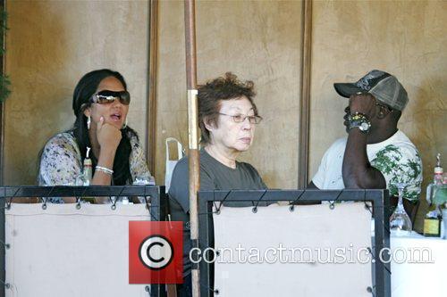 Kimora Lee Simmons, Djimon Hounsou and Russell Simmons 5