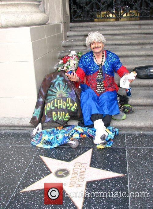 Outside the Kodak Theater ahead of the Oscars