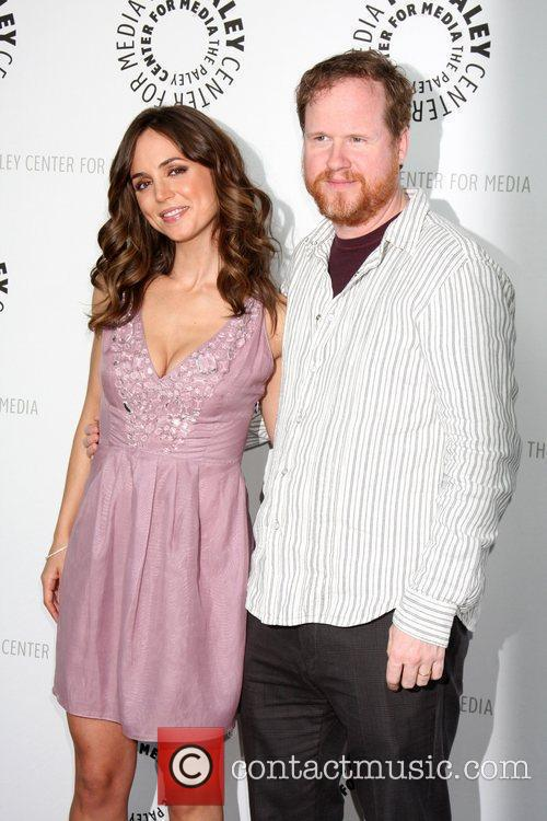 Eliza Dushku and Joss Whedon 2