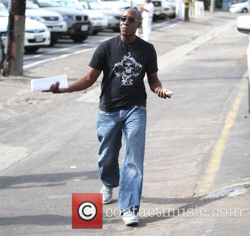 Don Cheadle out and about in Brentwood after...