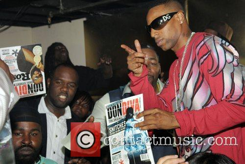 T-Drop and guests Don Diva Magazine Miami launch...