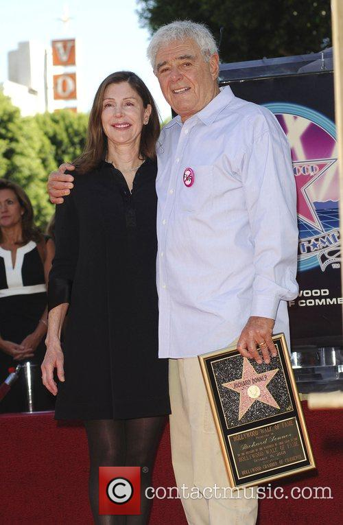 Richard Donner and Lauren Shuler Donner Richard Donner...