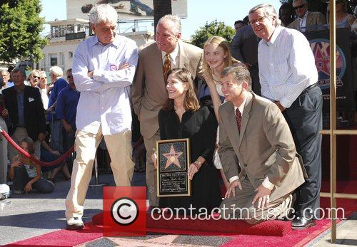 Richard Donner, Lauren Shuler Donner, Dakota Fanning and...