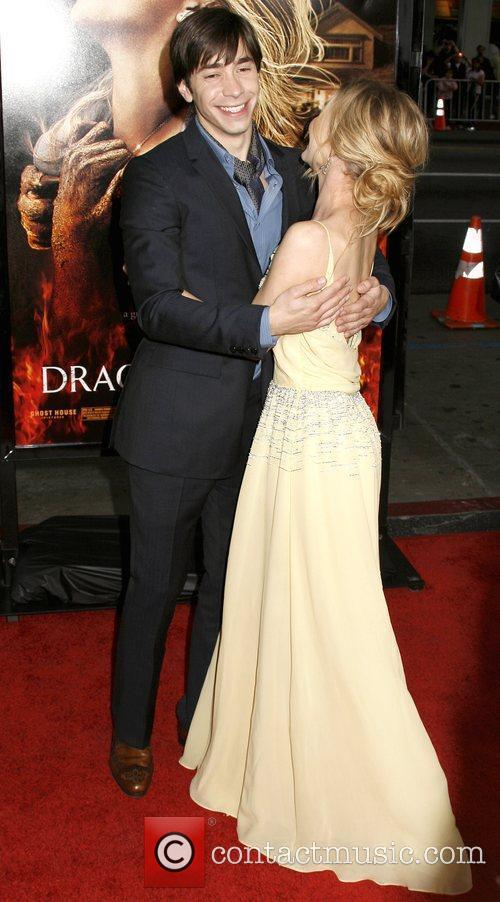 Alison Lohman and Justin Long Los Angeles premiere...