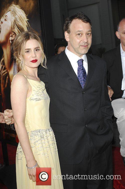 Alison Lohman and Sam Raimi Los Angeles Premiere...