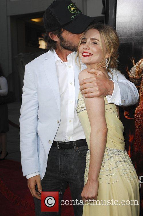 Mark Neveldine and Alison Lohman Los Angeles Premiere...