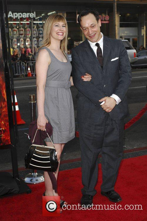 Suzanne Kelly and Ted Raimi Los Angeles Premiere...