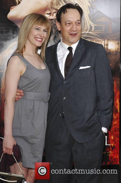 Ted Rami and Suzanne Kelly Los Angeles Premiere...