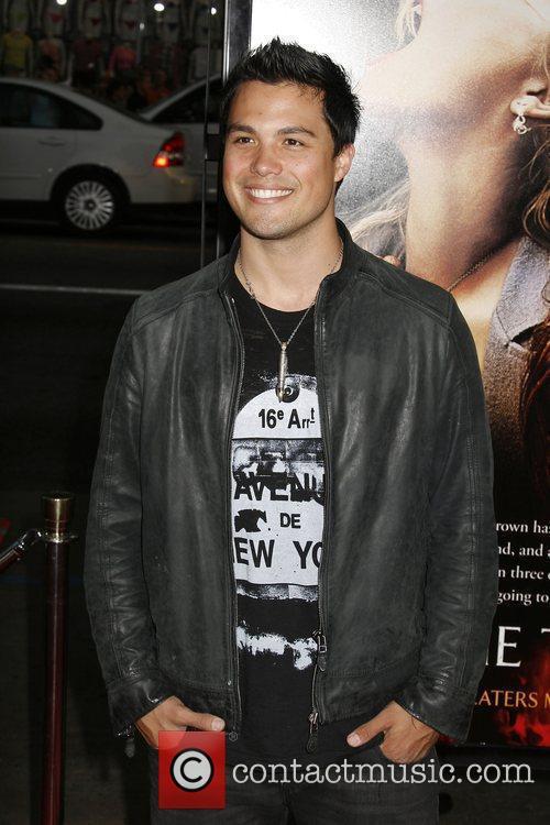 Michael Copon Los Angeles premiere of 'Drag Me...