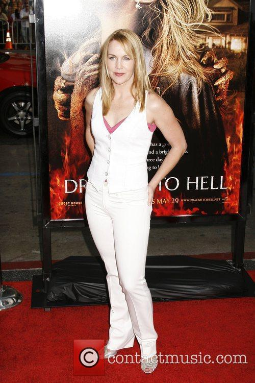 Renee O'Connor Los Angeles premiere of 'Drag Me...