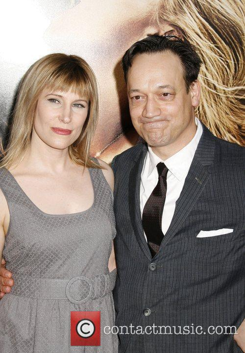 Ted Raimi and Guest Los Angeles premiere of...
