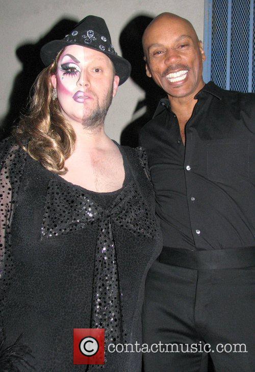 Ru Paul and guest attend Ru Paul's Drag...