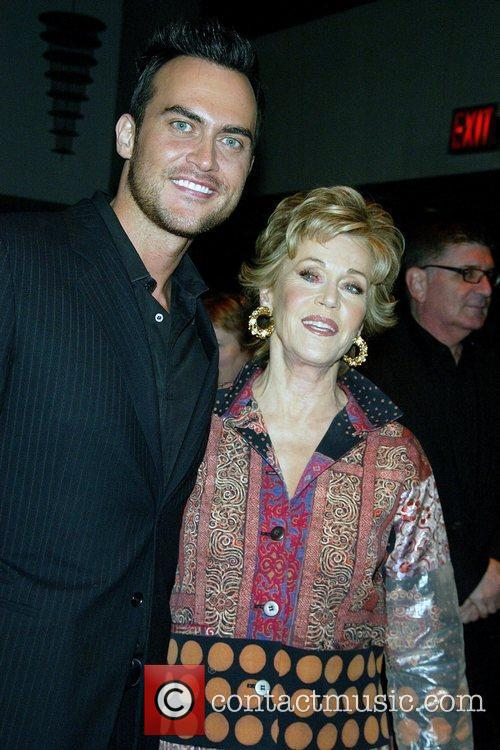 Cheyenne Jackson and Jane Fonda 11