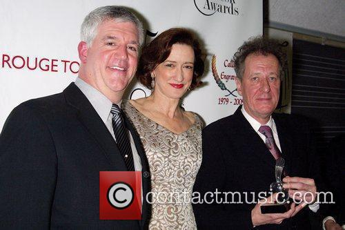 Gregory Jbara, Haydn Gwynne and Geoffrey Rush