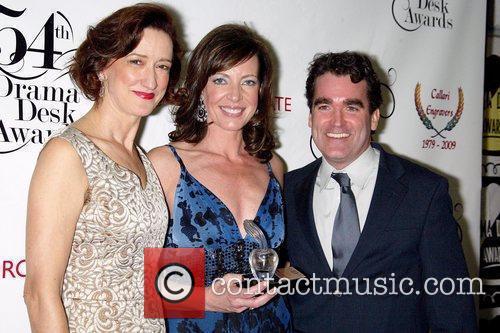 Haydn Gwynne, Allison Janney and Brian d'Arcy James...