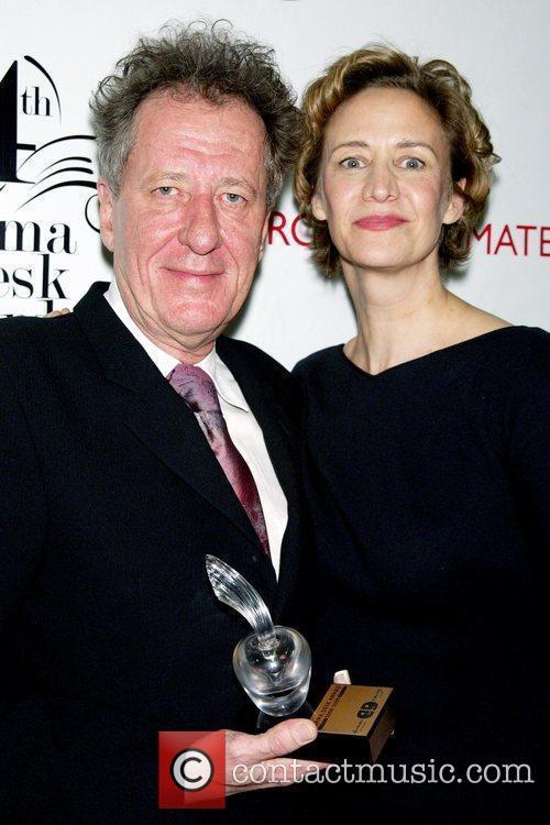 Geoffrey Rush and Janet Mcteer 2