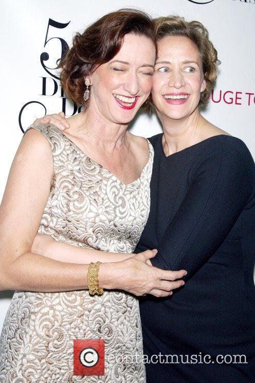 Haydn Gwynne and Janet McTeer 54th Annual Drama...