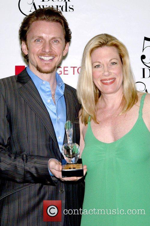 Jason Danieley and Marin Mazzie 54th Annual Drama...