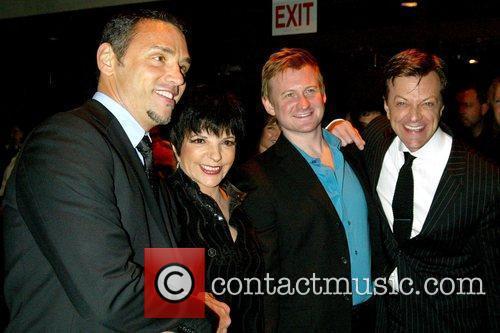 Tiger Martina, Liza Minnelli, Johnny Rodgers and Jim...