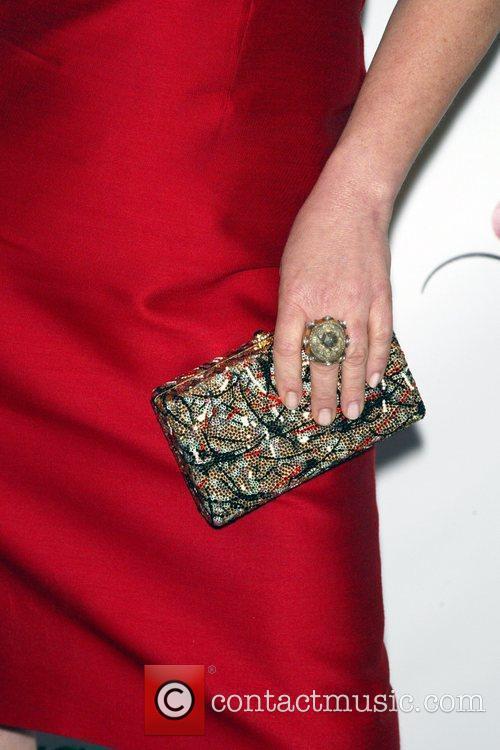 Marcia Gay Harden wearing Lela Rose The 75th...