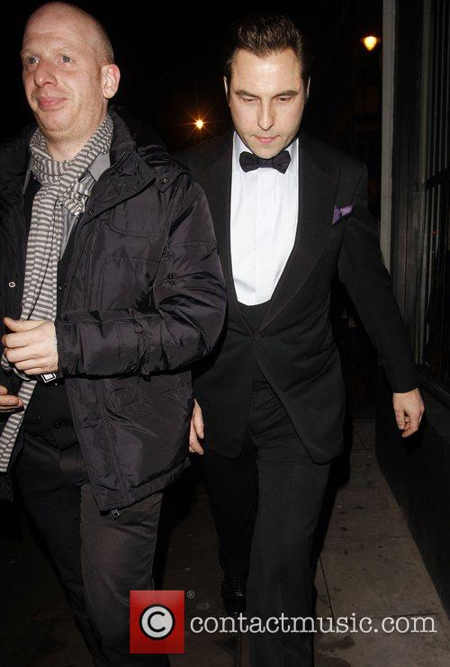 David Walliams and guest Arrive at The Dramatic...