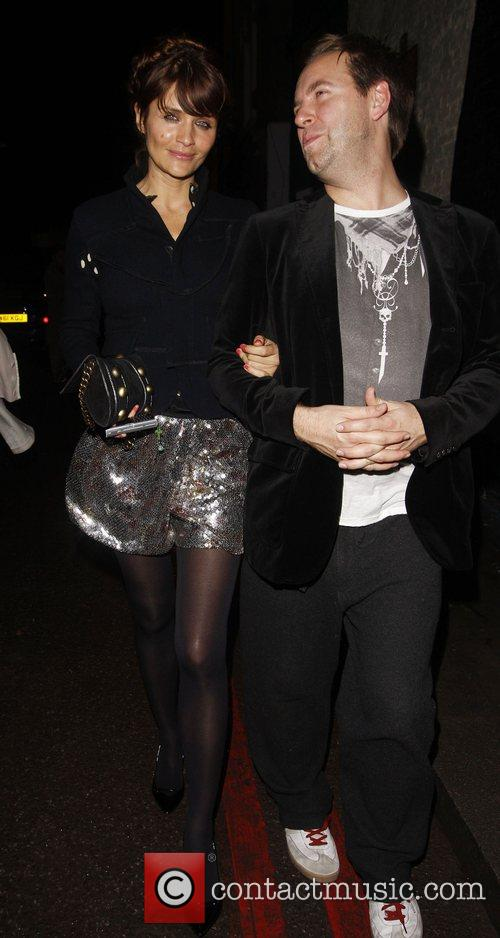 Helena Christensen and guest Arrive at The Dramatic...