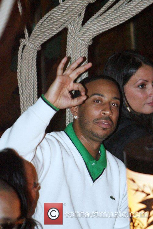 Ludacris The Dream's Black Tie Album Release Party...