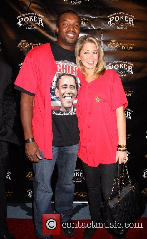 Roger Cross and Holly Montag Dream Team Poker...