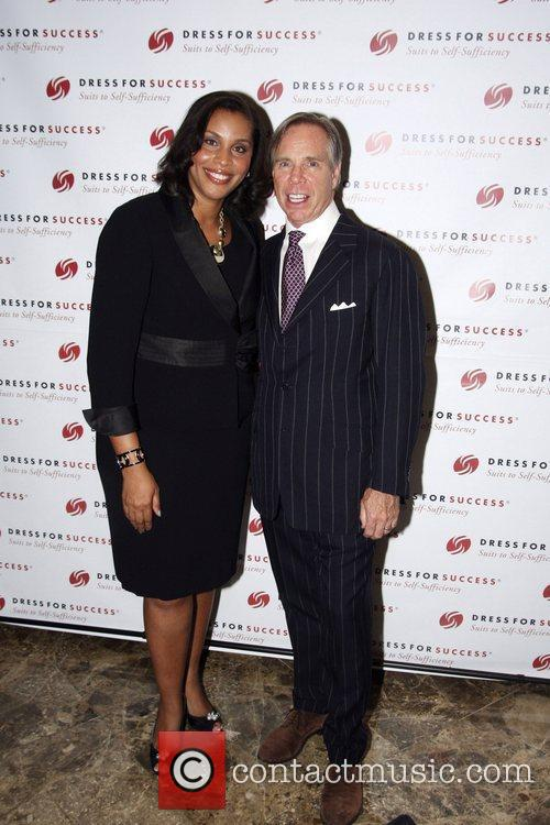 Joi Gordon and Tommy Hilfiger