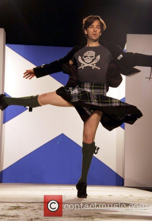 Ballet dancer Seventh Annual Dressed To Kilt charity...