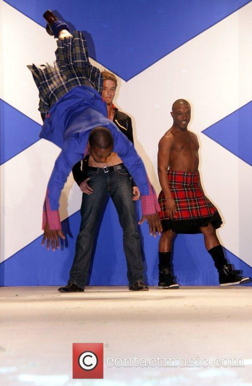 Dancers Seventh Annual Dressed To Kilt charity fashion...