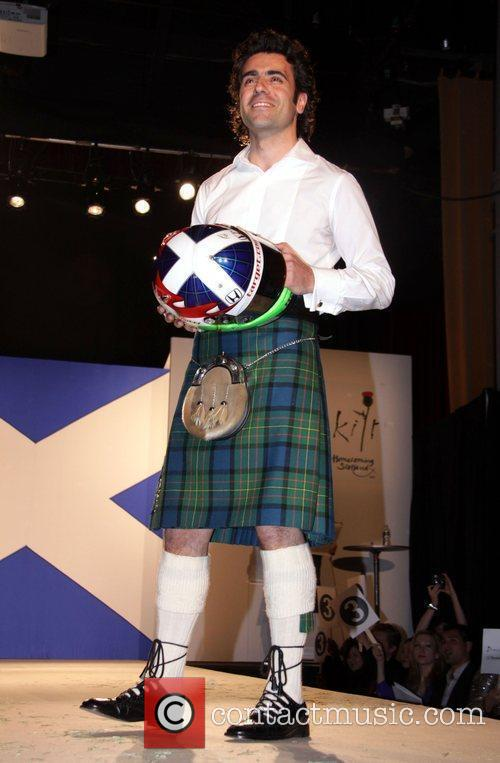 Dario Franchitti Seventh Annual Dressed To Kilt charity...