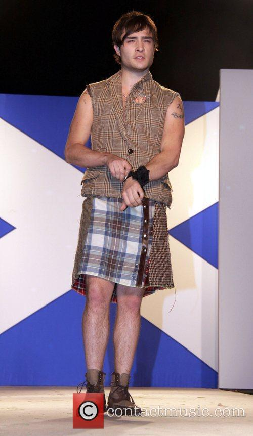 Ed Westwick Seventh Annual Dressed To Kilt charity...