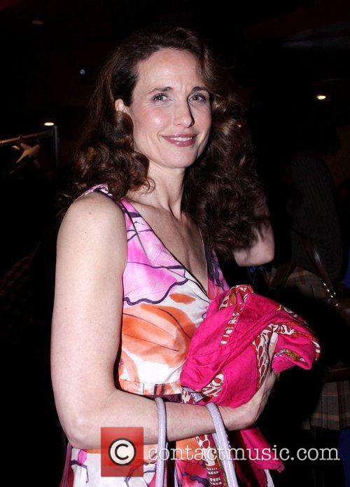 Andie MacDowell Seventh Annual Dressed To Kilt charity...