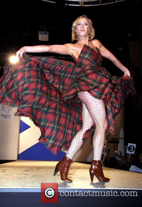 Models Seventh Annual Dressed To Kilt charity fashion...