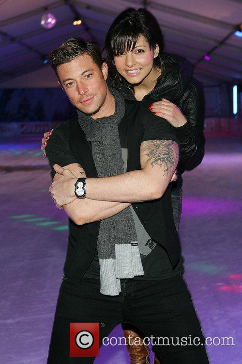 Roxanne Pallet and Duncan James launch the special...