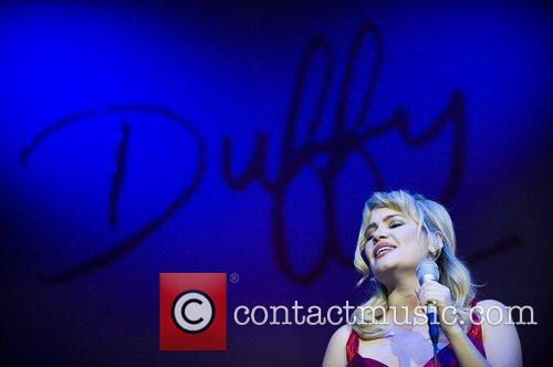 Duffy performing live at Brixton Academy