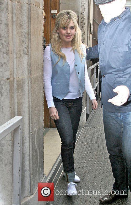 Singer Aimee Ann Duffy aka Duffy leaving Radio...