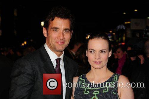 Clive Owen and Guest UK premiere of 'Duplicity'...