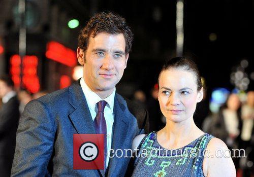 Clive Owen and Sarah Jane UK premiere of...