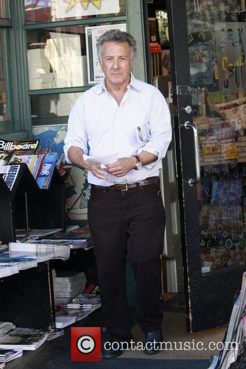 Dustin Hoffman seen shopping at The Library on...