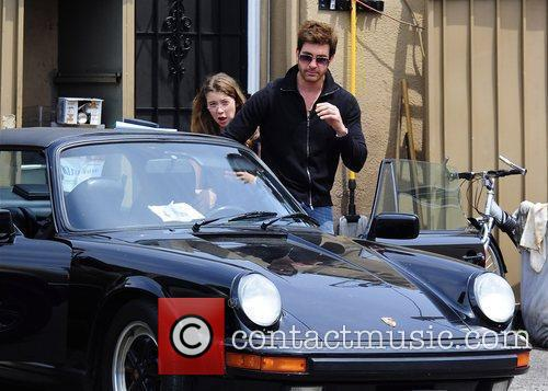 Dylan McDermott leaving a restaurant after having lunch...