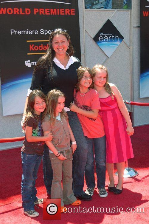 Camryn Manheim, Guests World Premiere of 'Disneynature: earth'...