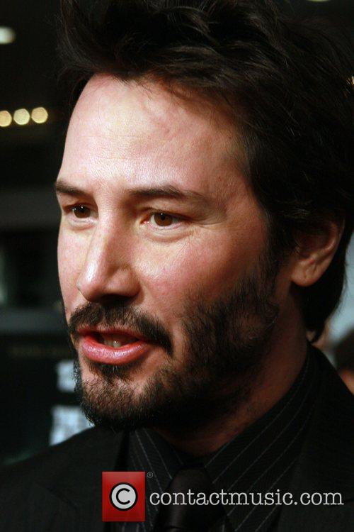 Keanu Reeves New York Premiere of 'The Day...