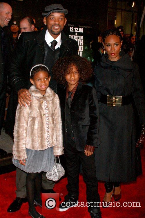 Willow Smith, Will Smith, Jaden Smith and Jada...