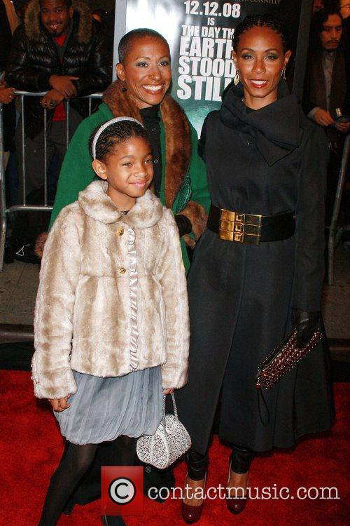 Adrienne Banfield-Jones, Willow Smith, Jada Pinkett-Smith New York...