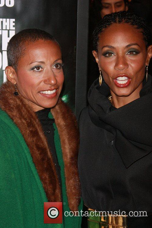 Adrienne Banfield-Jones, Jada Pinkett-Smith New York Premiere of...