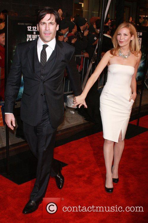 Jon Hamm, Jennifer Westfeldt  New York Premiere...