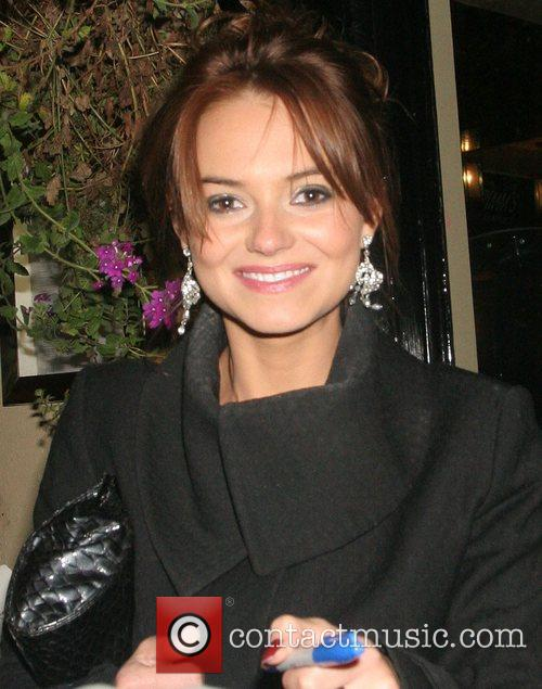 Kara Tointon The Eastenders charity night at the...