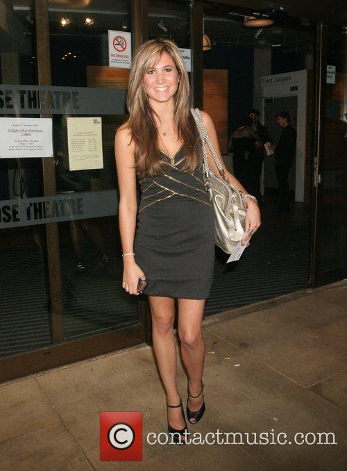Kiara Jameson The Eastenders charity night at the...